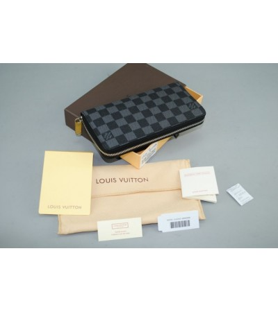 LOUIS VUITTON DAMIER CANVAS ZIPPY WALLET VERTICAL ITHAL CÜZDAN