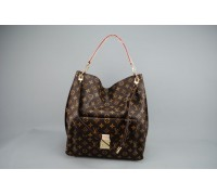 Louis vuitton METIS GM MONOGRAM CANVAS %100 HAKIKI VEJITAL DERI