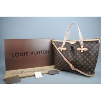LOUIS VUITTON MONOGRAM CANVAS PALERMO GM %100 HAKIKI VEJITAL DERI