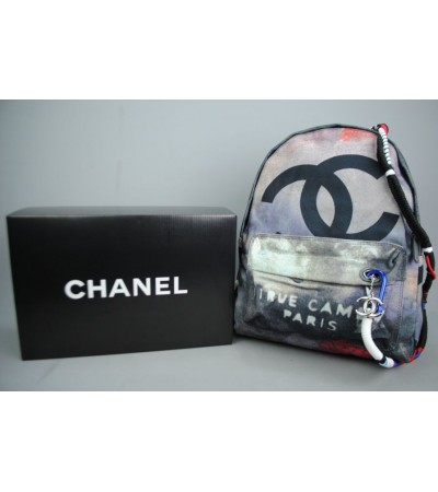 CHANEL BACKPACK GRAFFITI SIRT ÇANTASI