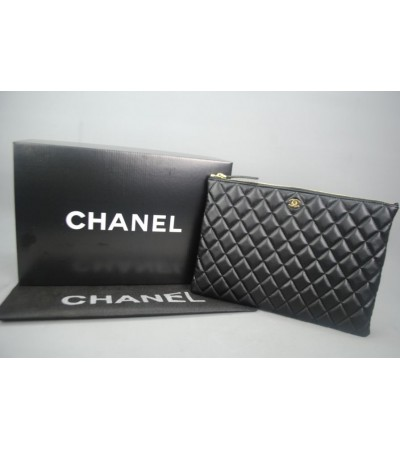 CHANEL O'CASE CLUTCH ALTIN AKSESUARLI