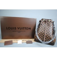 LOUIS VUITTON DAMİER CANVAS NOE %100 VEJITAL DERI