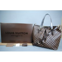 LOUIS VUITTON DAMİER CANVAS PALERMO GM %100 HAKIKI VEJITAL DERI