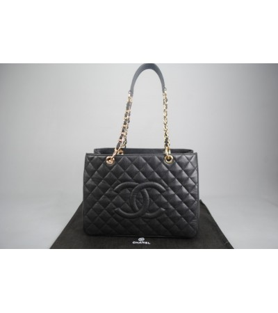 Chanel %100 CAVİAR DERİ PST/ Petite Shopping Tote Bag