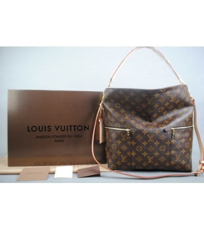 LOUIS VUITTON MONOGRAM CANVAS MELİE VEJITAL DERI